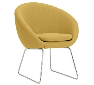 Hygena Fabric Pod Chair