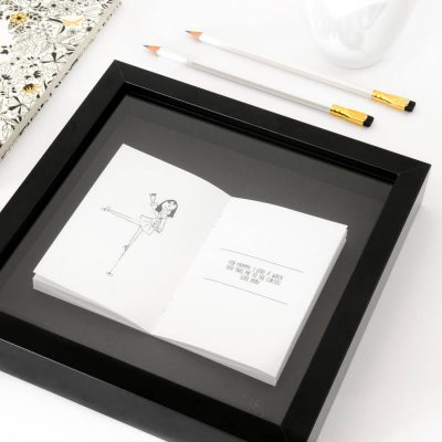 Child's Drawing Personalised Framed Book