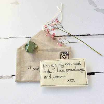 Personalised Love Note