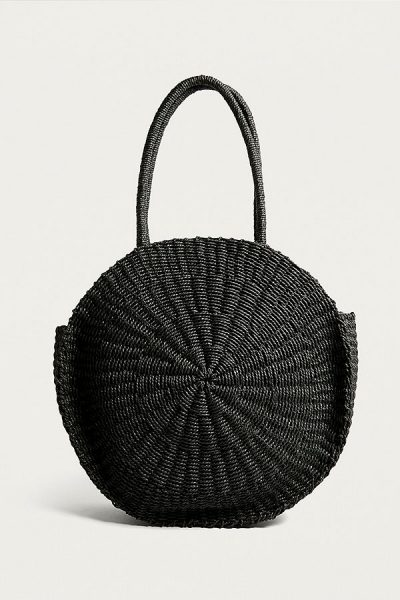 Urban Outfitters Round Straw Tote Bag