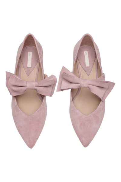 Bow ballet pumps