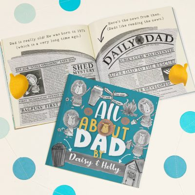 'My Dad' Personalised Book For Fathers