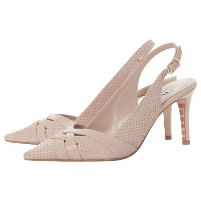 Slingback Court Shoes