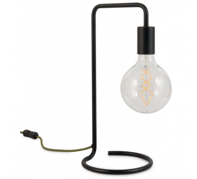 Celio Black Table Lamp
