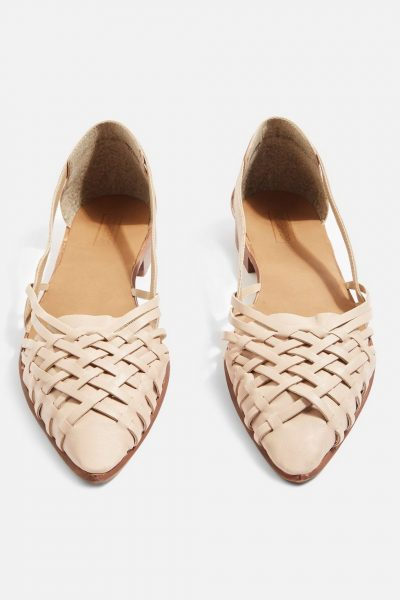 Abstract Woven Shoes