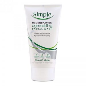 Simple Regeneration Facial Wash Age Resisting